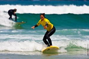 surfing silver coast
